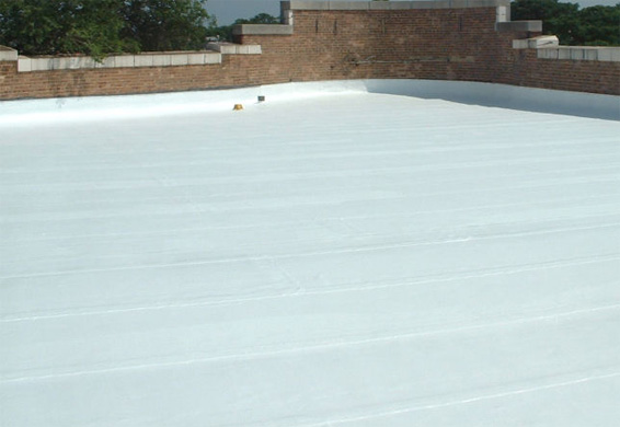 Thermoplastic roofing membrane