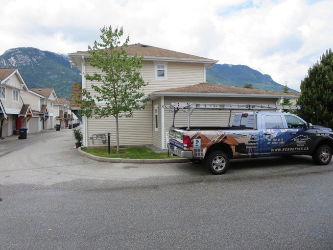 Squamish commercial roofing