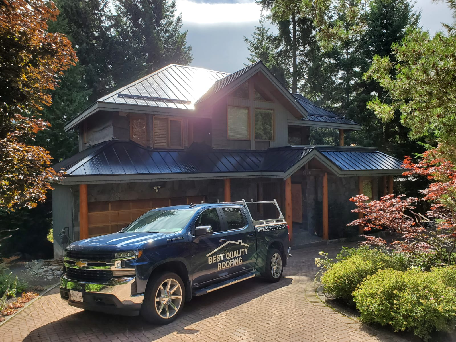 Metal Roof Job in Whistler