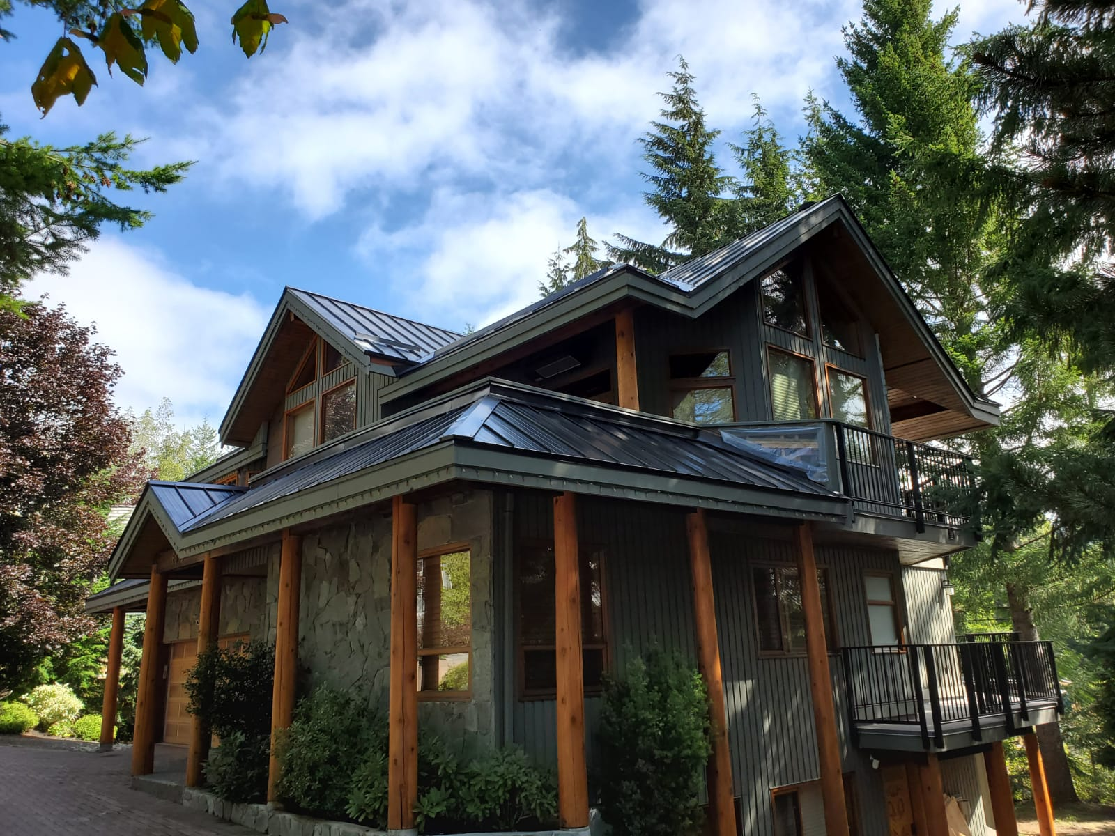 Metal Roof Job in Whistler - 10