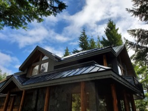 Metal Roof Job in Whistler - 11