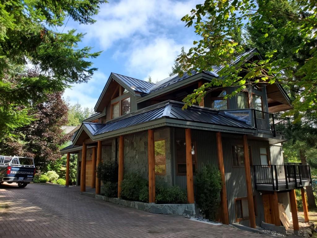 Metal Roof Job in Whistler - 13
