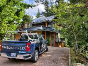 Metal Roof Job in Whistler - 5