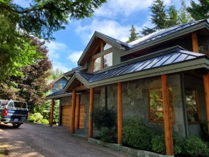 Metal Roof Job in Whistler - 7