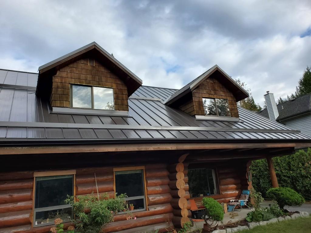 Metal Roof Job In Squamish