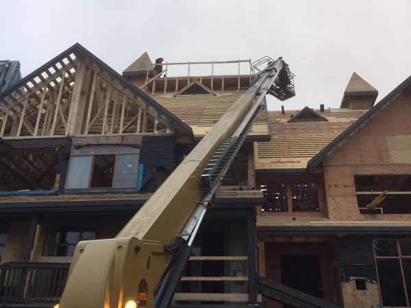 metal roof whistler project