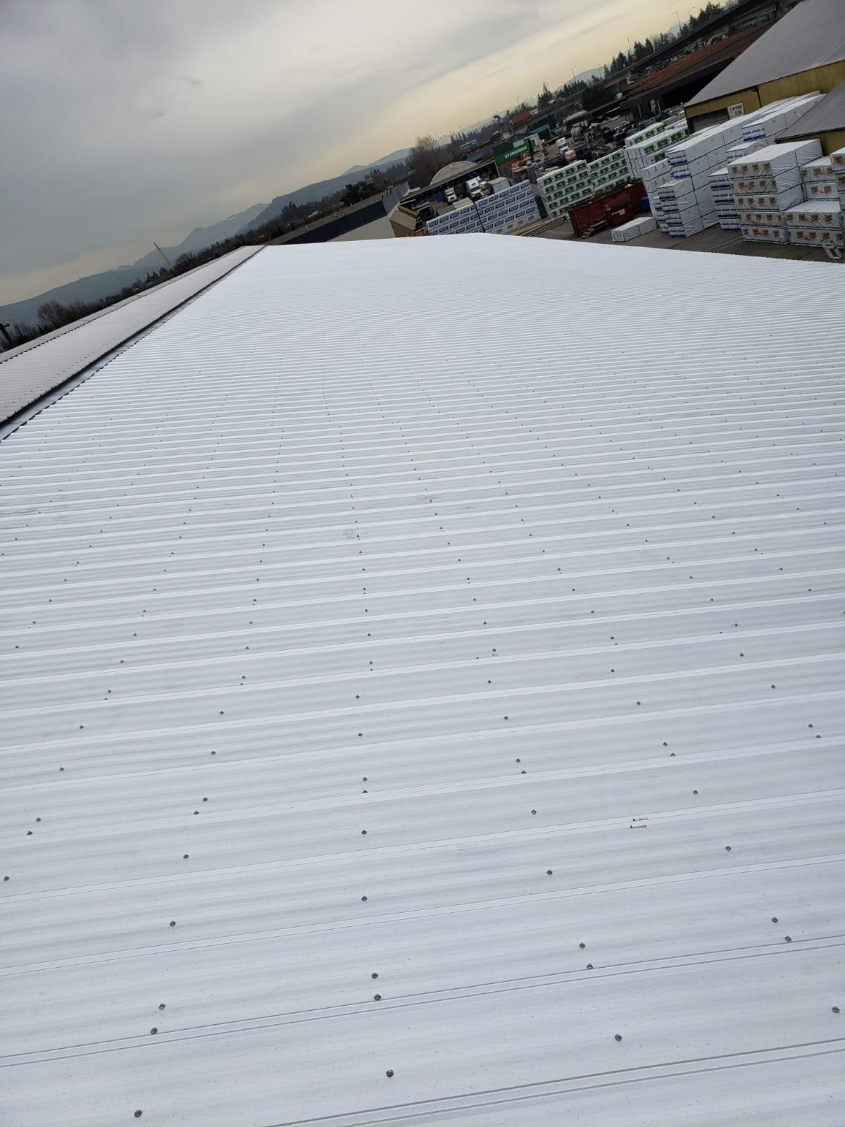 metal roofing job Langley