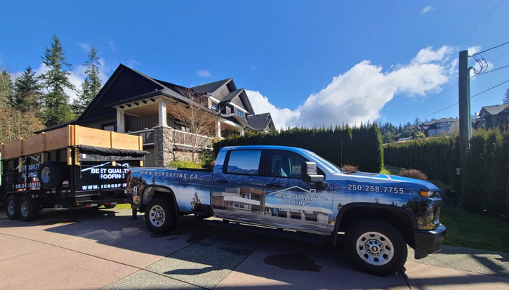 BQR roofing services in Kelowna, BC