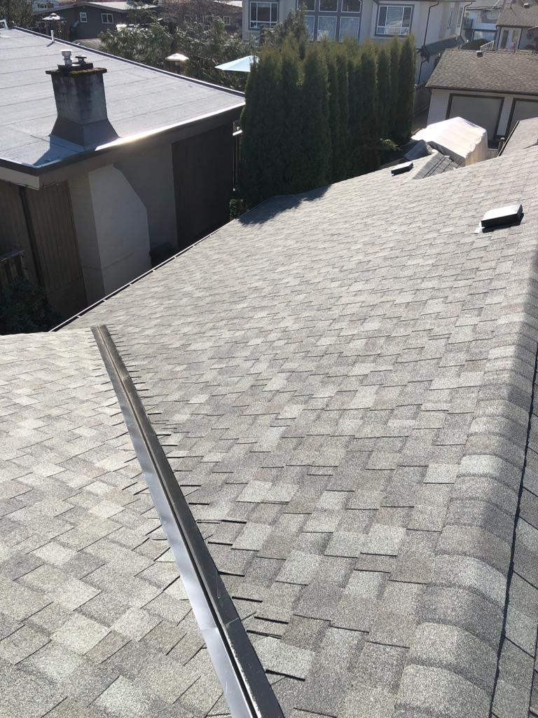 ew shingle roof system with 2 ply torch on membrane