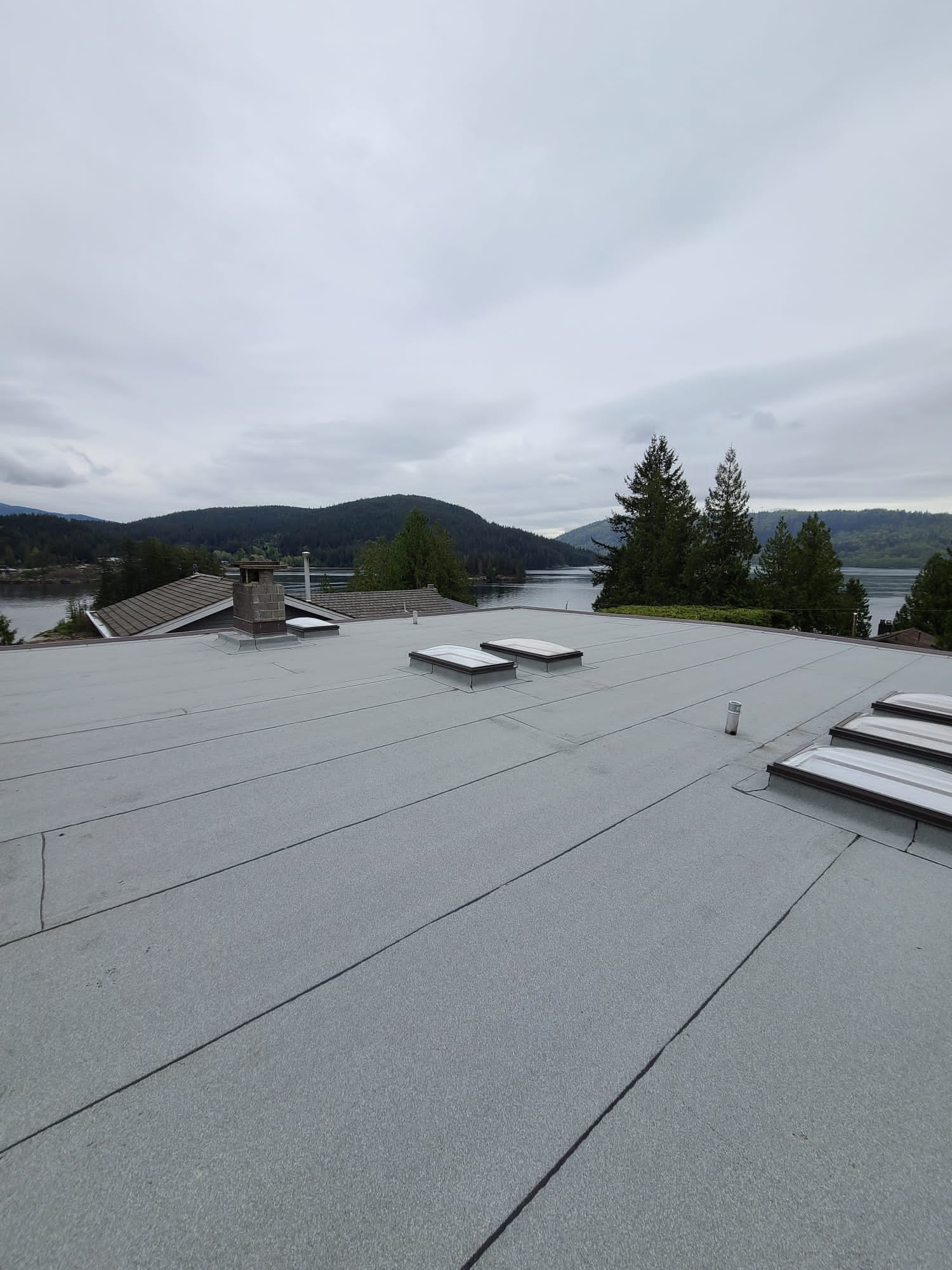 skylights installed in North Vancouver.