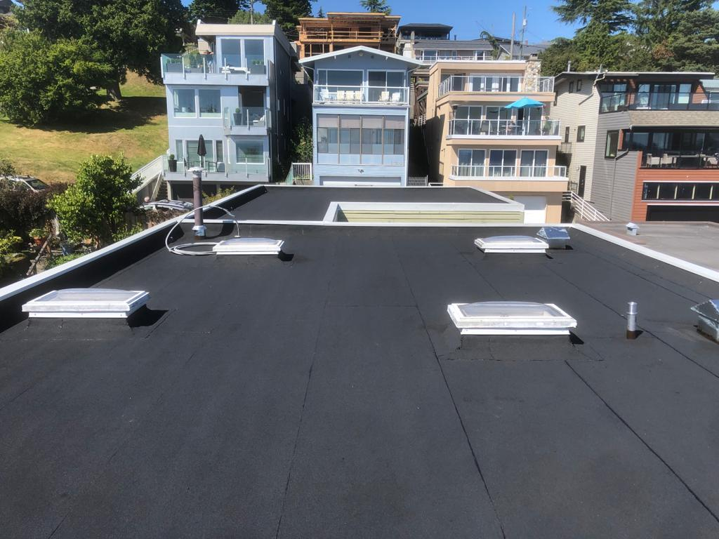 BQR - completed roof in White Rock