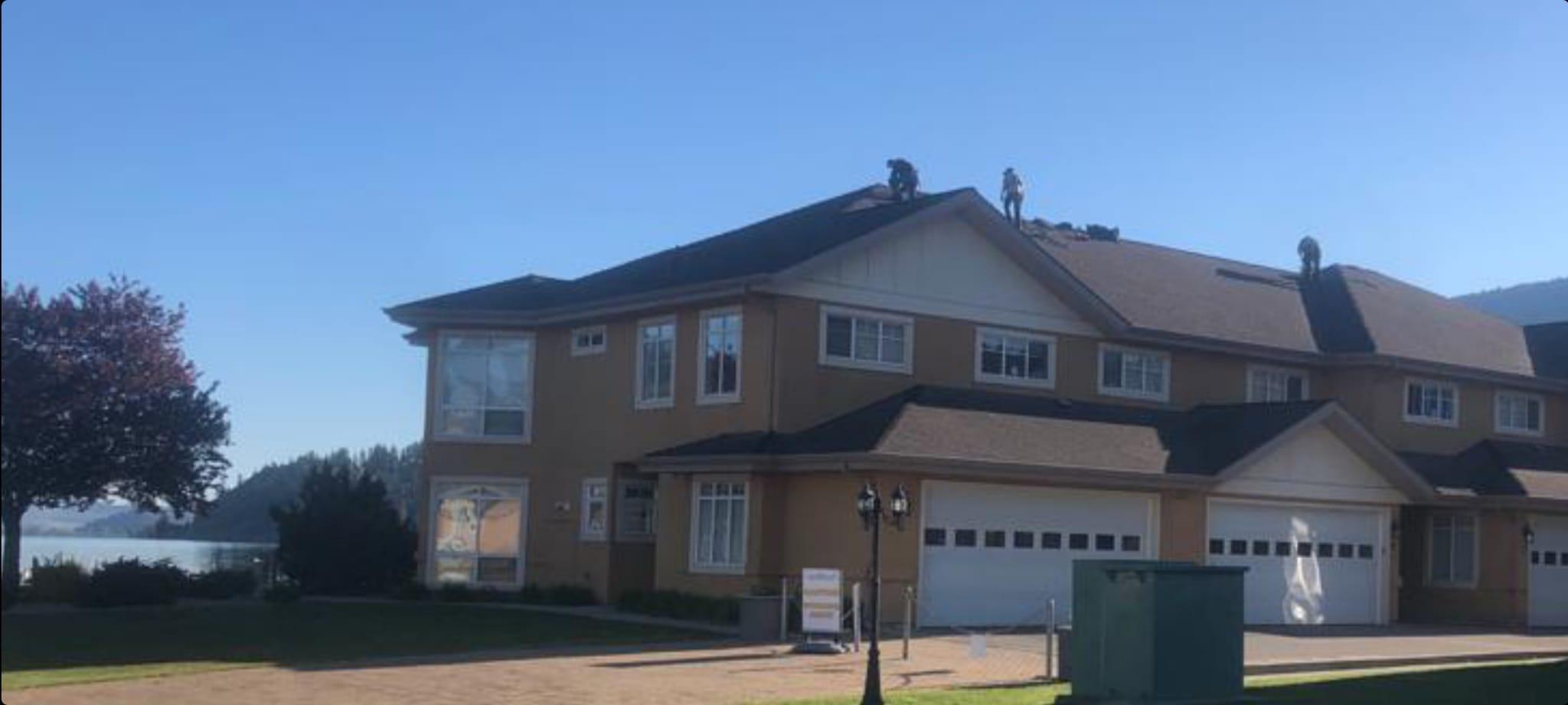 New Roofing Job Lake Country of the Okanagan