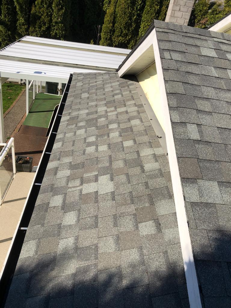 New roof completed by BQR in Port Coquitlam