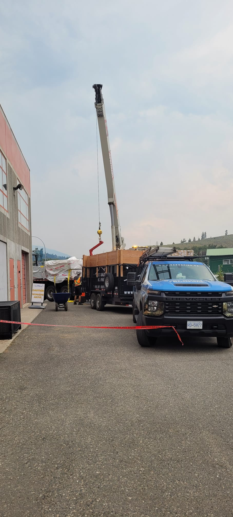 Commercial Flat Roof Project in Okanagan