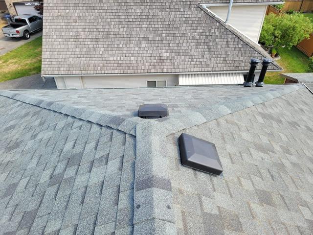 asphalt shingle BQR recently completed in Surrey