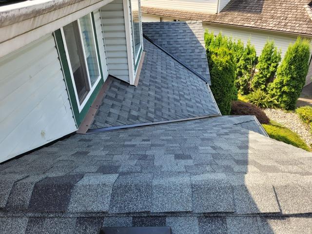 Cedar conversion to asphalt shingle